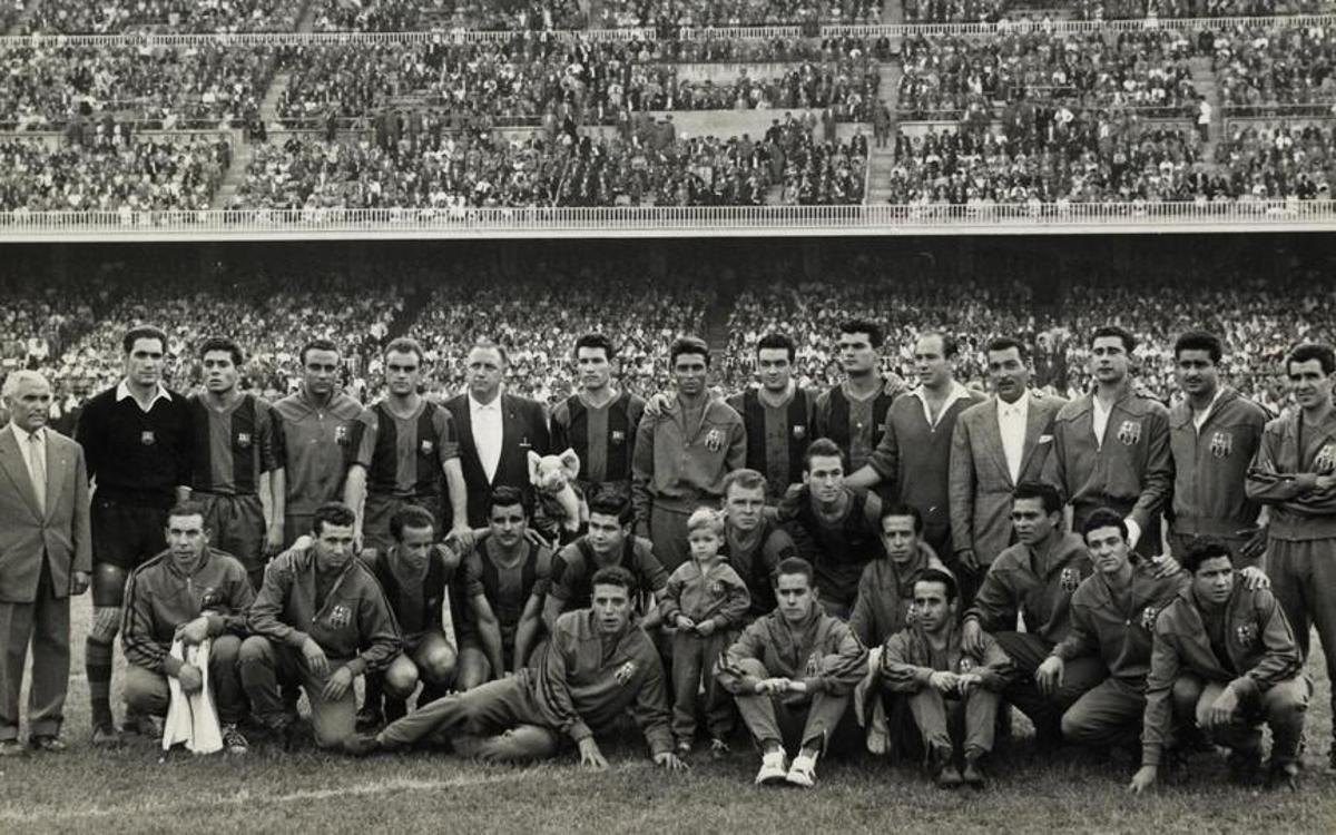 1950-61. Kubala y su tiempo