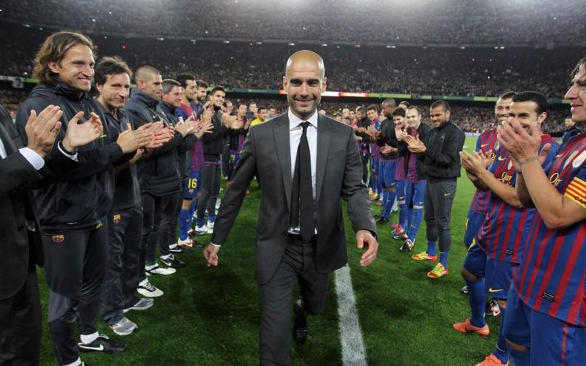 Image result for Guardiola barcelona coach