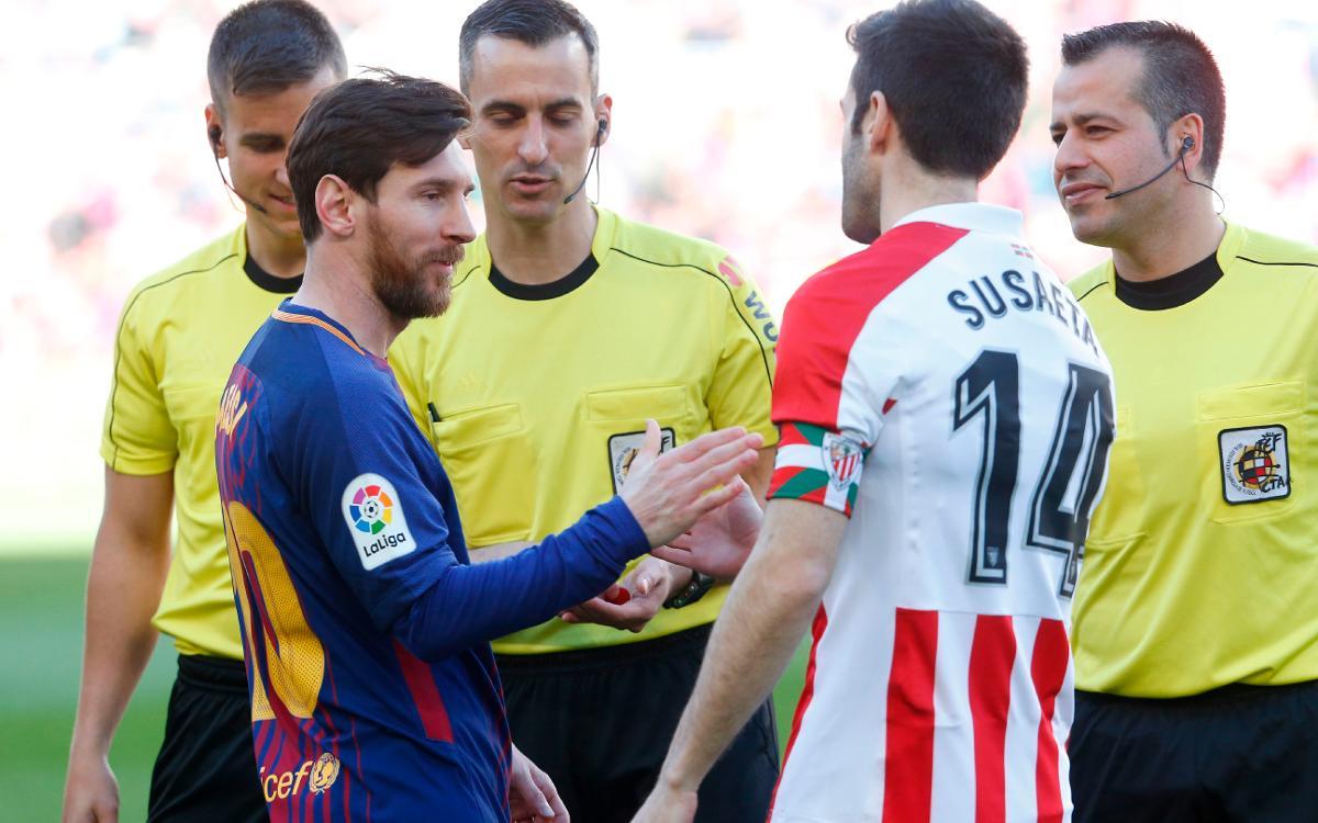 Barcelona v Athletic Club 2-0