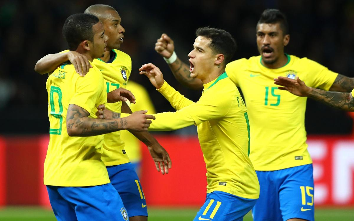 Spain and Brazil make big statements with impressive wins