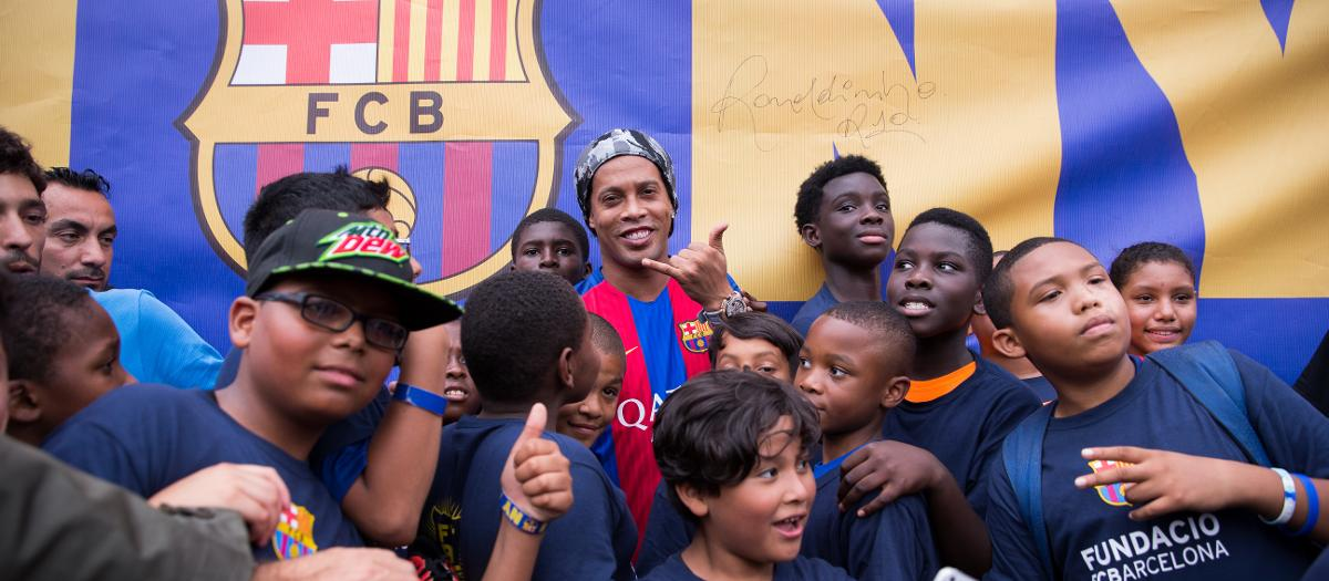 All about Ronaldinho