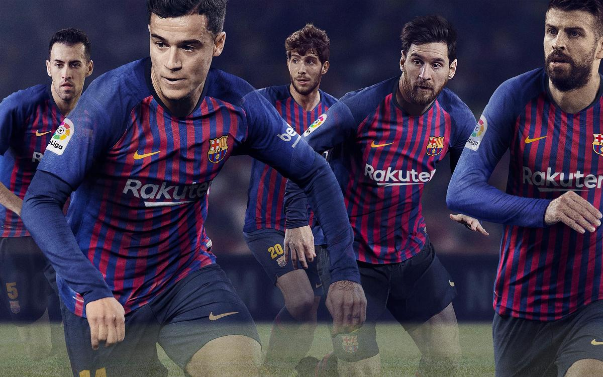 67d8ac663f1 FC Barcelona unveils new Nike kit for 2018/19 season