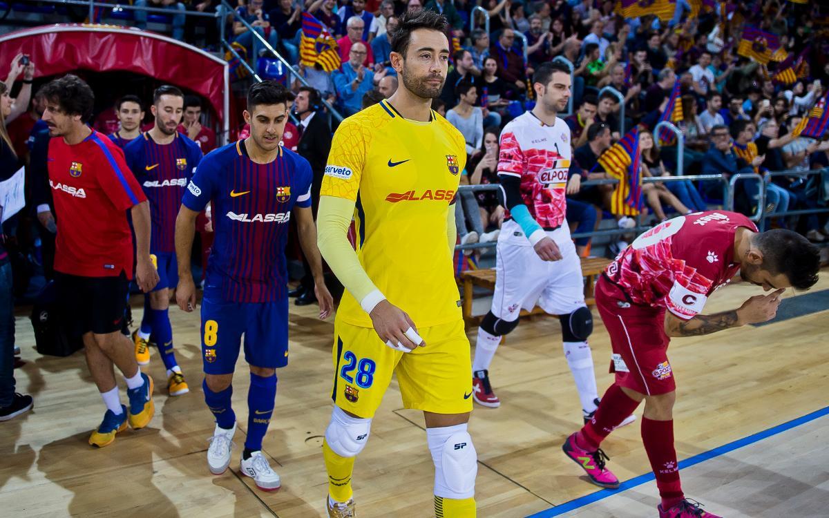 La semifinal contra ElPozo ya tiene horarios confirmados