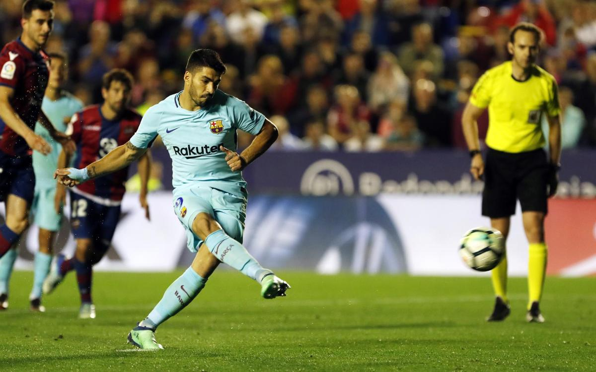 HIGHLIGHTS: Levante vs FC Barcelona