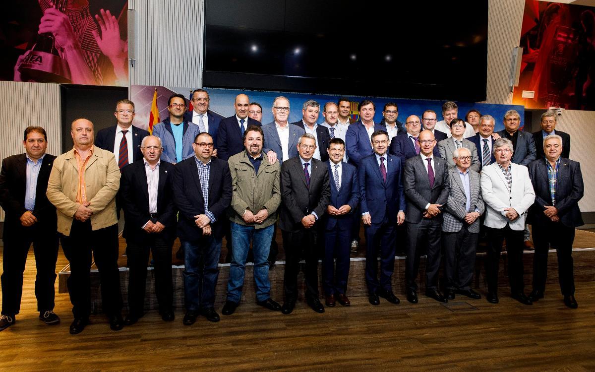 Último plenario del Consejo de Peñas de la temporada 2017/18