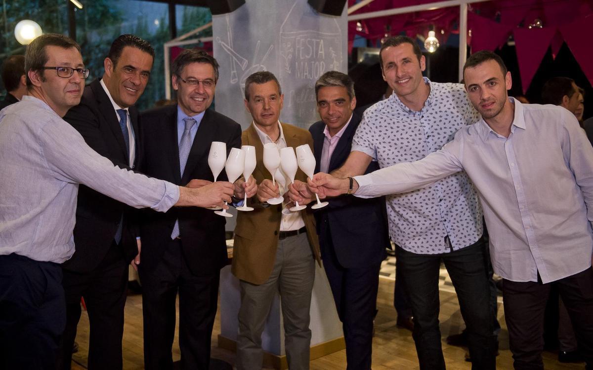 El Barça Lassa celebra el final de temporada amb un sopar institucional