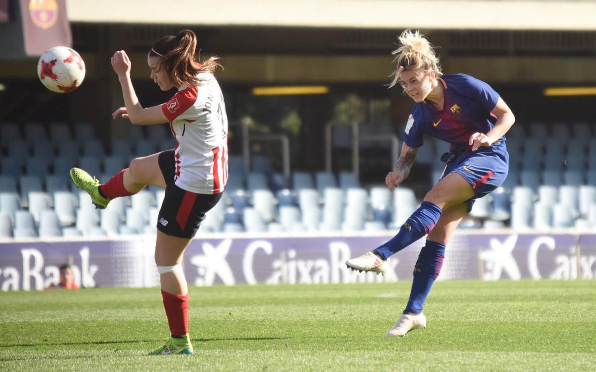 Athletic Club - FC Barcelona Femenino (previa): La Copa pasa por Reus