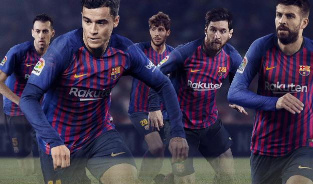 FC Barcelona unveils new Nike kit for 2018 19 season 74400cbb3