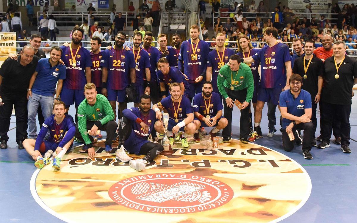 Barça Lassa – Fraikin BM Granollers: Campions amb solvència (46-27)