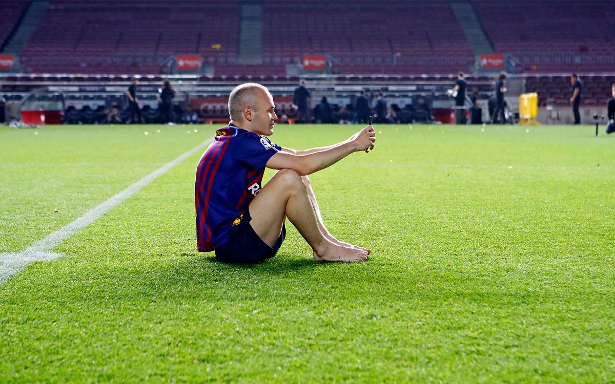 Iniesta's last week at Barça from a different perspective