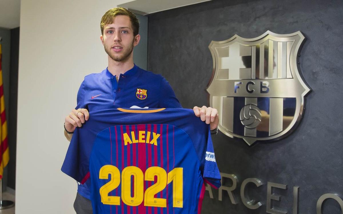 Aleix Gómez, renovado hasta el 2021