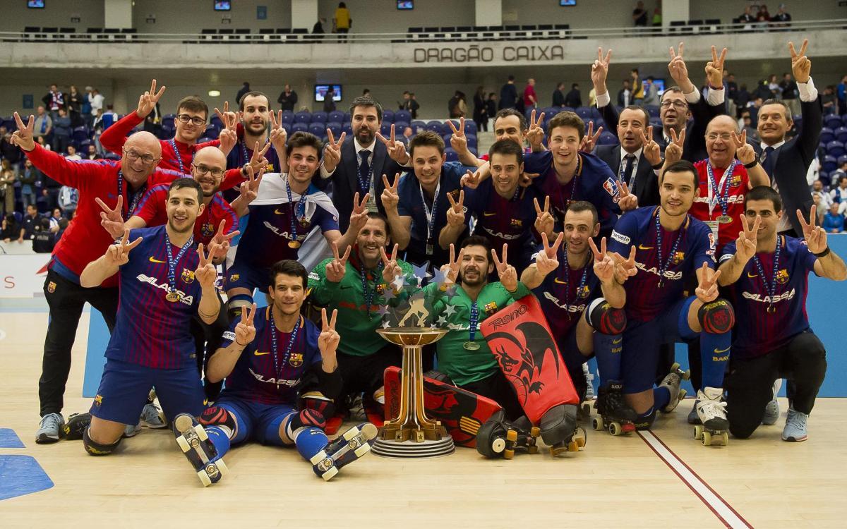 El Barça Lassa guanya la 22a Lliga Europea