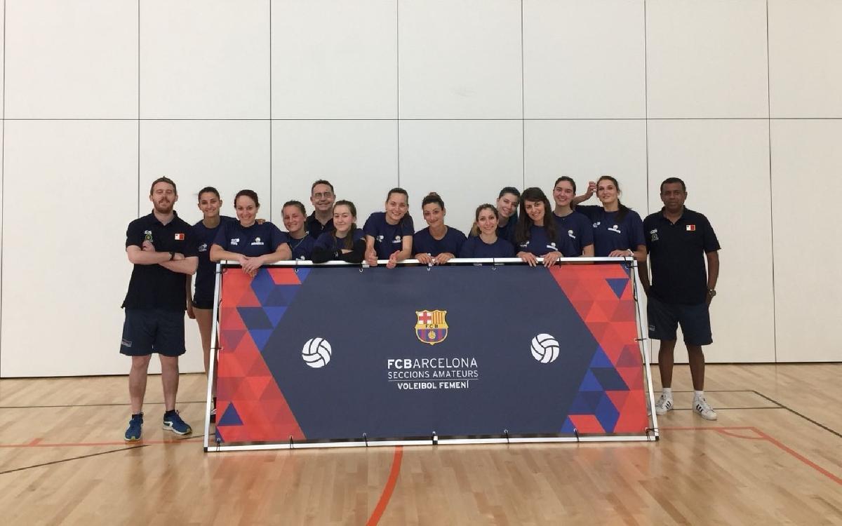 La selecció de Malta disputarà tres amistosos amb el CV Barça
