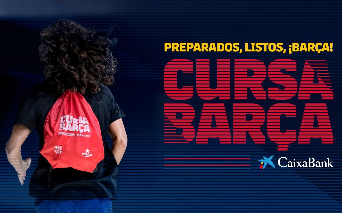 Los participantes en la Cursa Barça 2018 recibirán una bolsa del corredor llena de regalos y descuentos