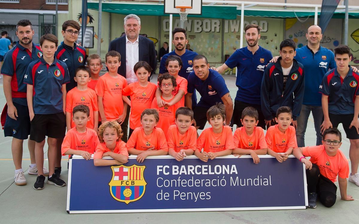 Ensenyen els valors del Futsal als més petits