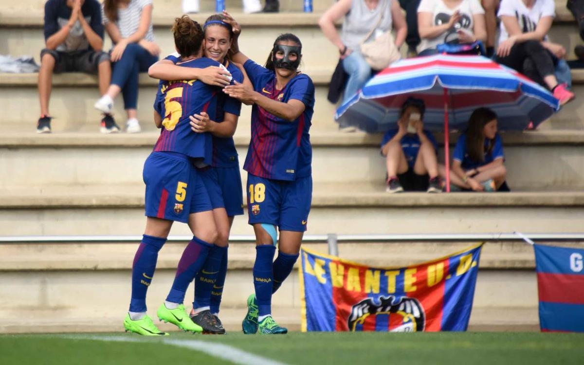 Llevant UD – FC Barcelona Femení (prèvia): Una reafirmació