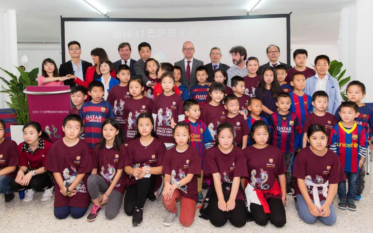 La comunitat xinesa de Barcelona inaugura la Penya Dracs Units