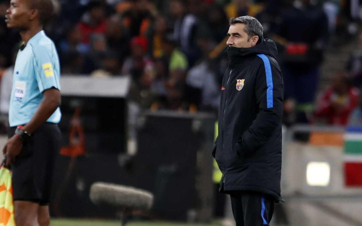 Valverde: 'The atmosphere was fantastic'