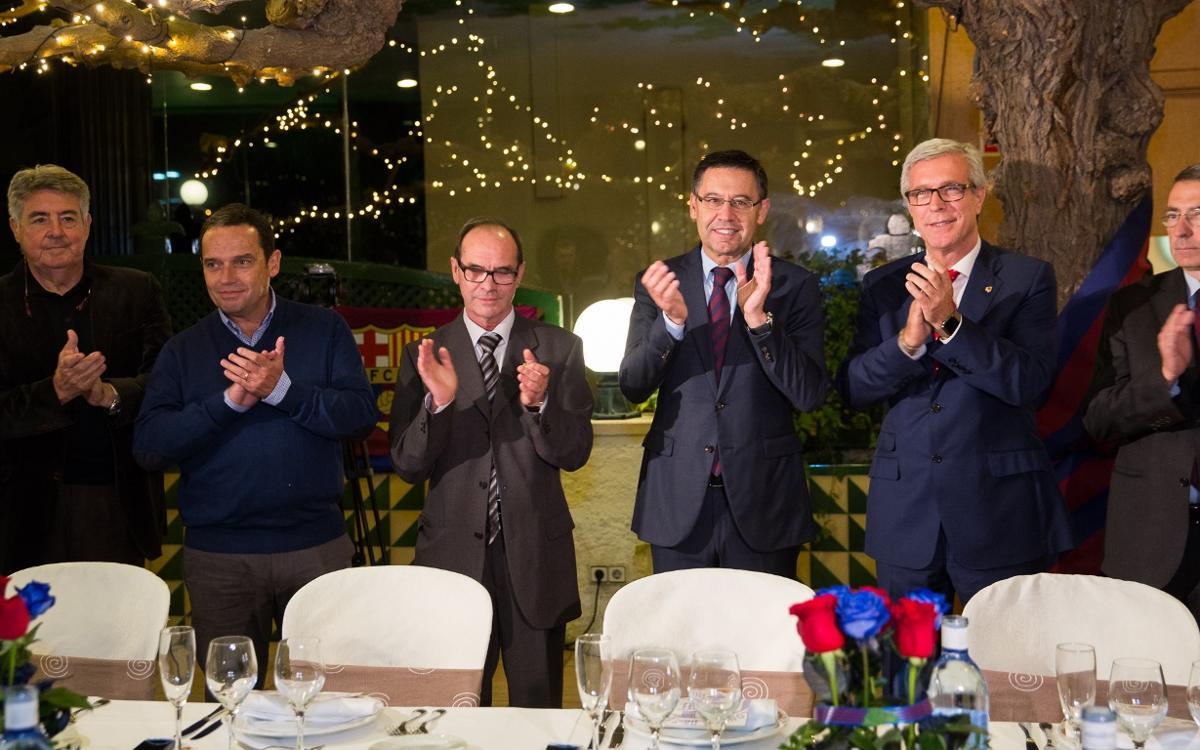 Injecció d'optimisme en el 50è aniversari de la Gran Penya de Tarragona i Província