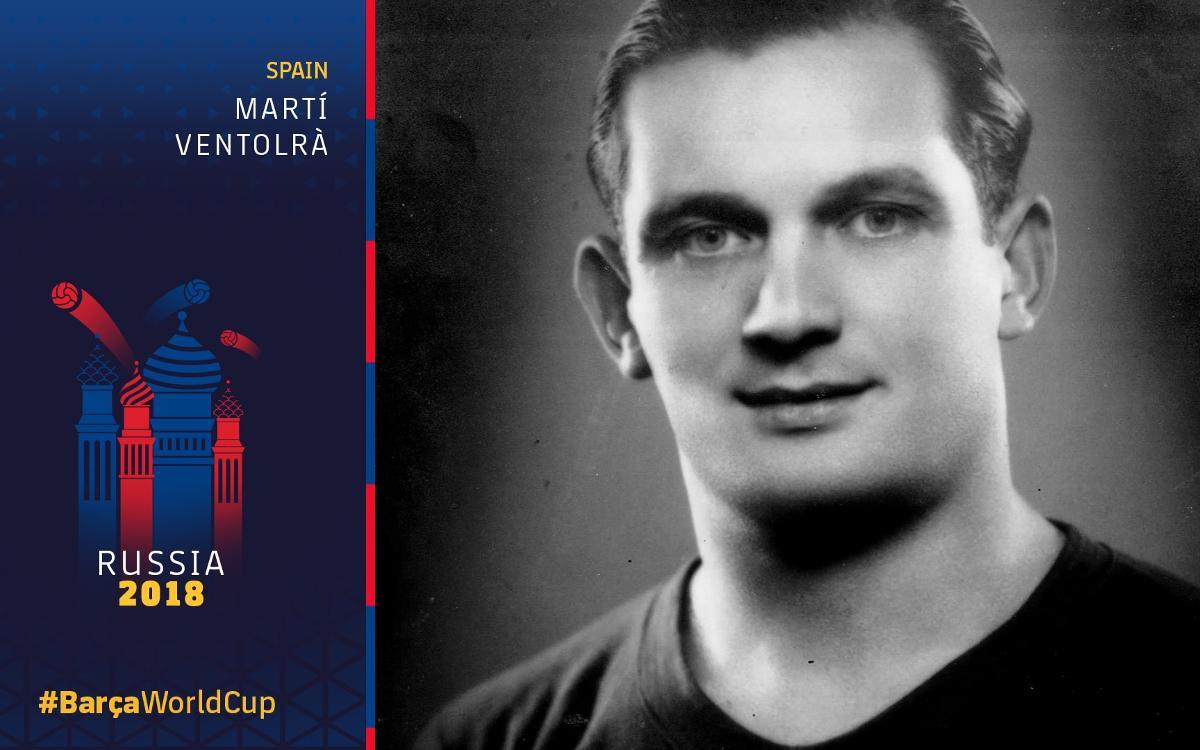 Barça at the World Cup: Martí Ventolrà (I)