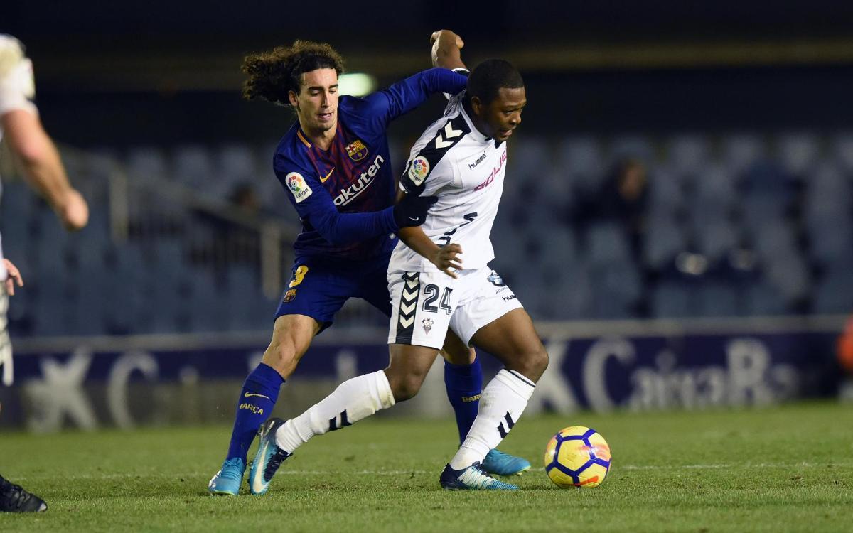 Albacete – Barça B: Només existeix aquest partit i aquests tres punts