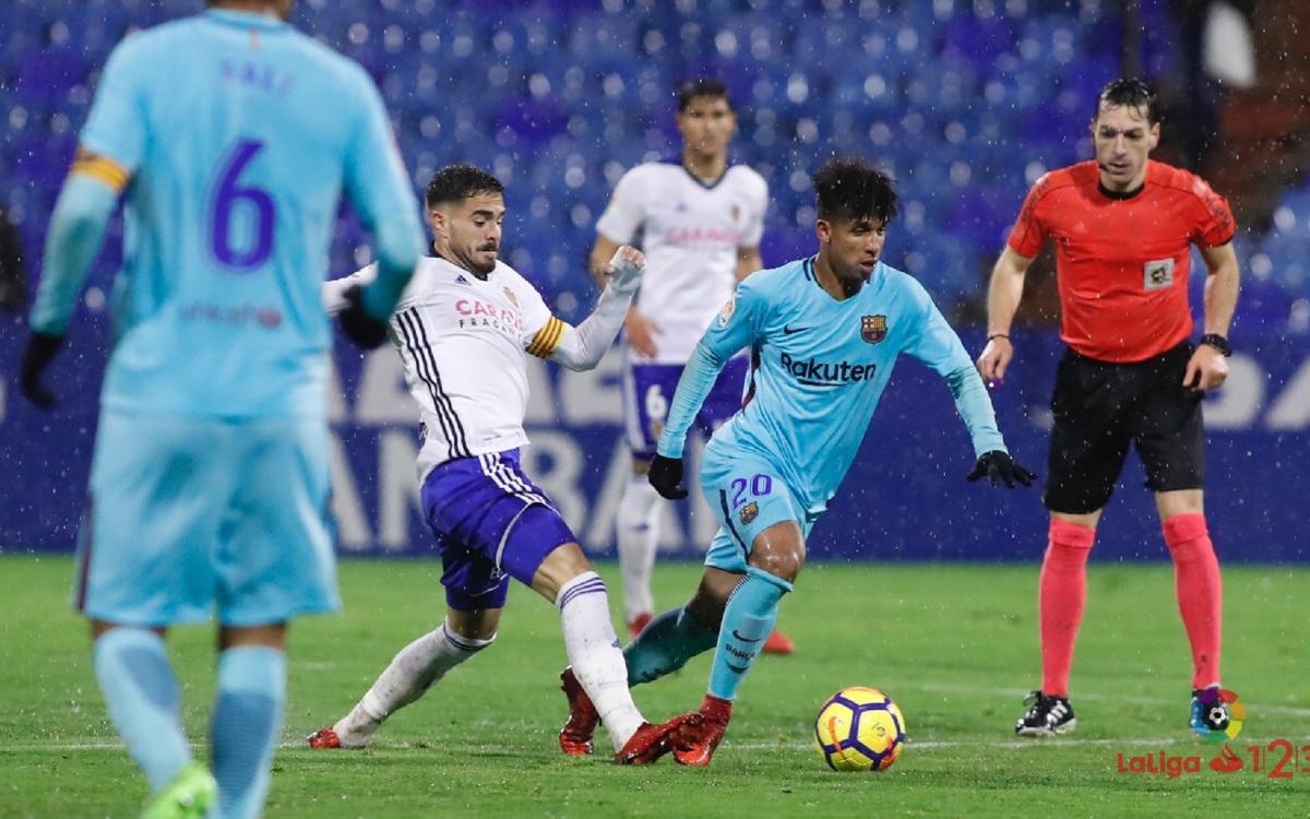 Barça B - Real Zaragoza: Fin de Liga con una alegría