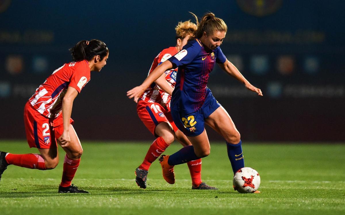FC Barcelona Femenino - Atlético de Madrid (previa): El duelo final
