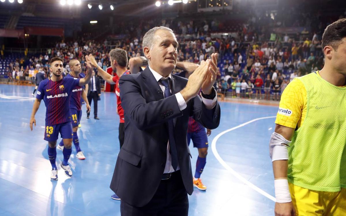 """Andreu Plaza: """"Dimarts tornarà a ser un matx amb molta intensitat"""""""