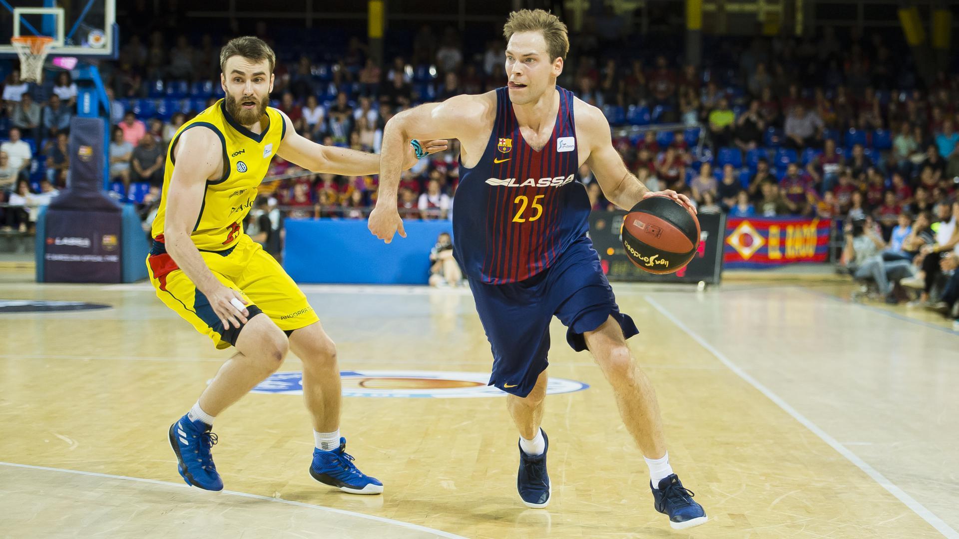 7f7384740 FC Barcelona Lassa – Morabanc Andorra  Must win game now in Andorra (76-94)