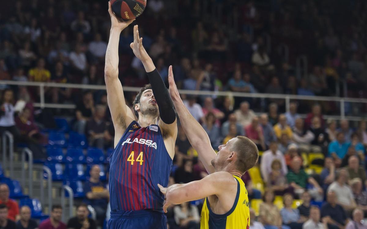 FC Barcelona Lassa - MoraBanc Andorra: Les semifinals, en joc al Palau