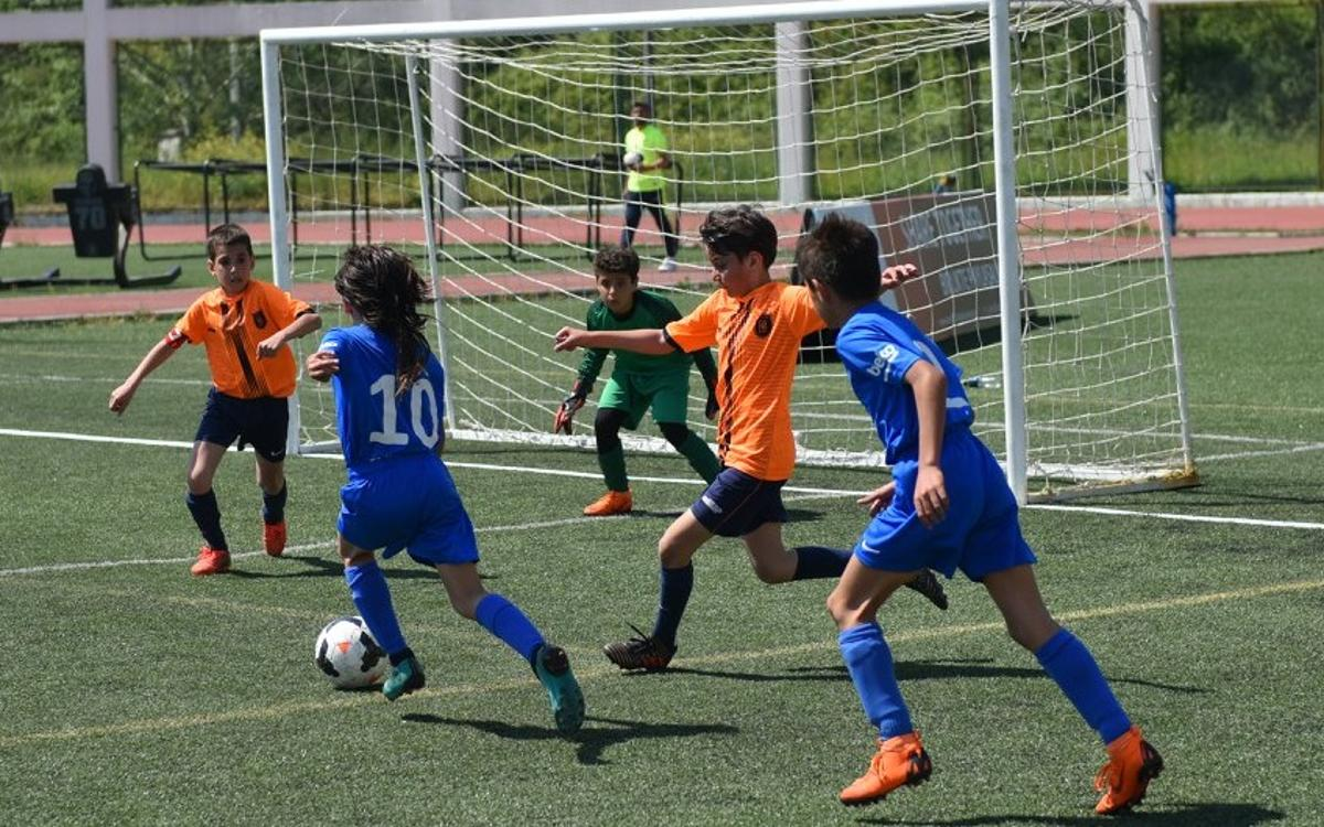 The first International Tournament at the FCBEscola Istanbul Beko a great success