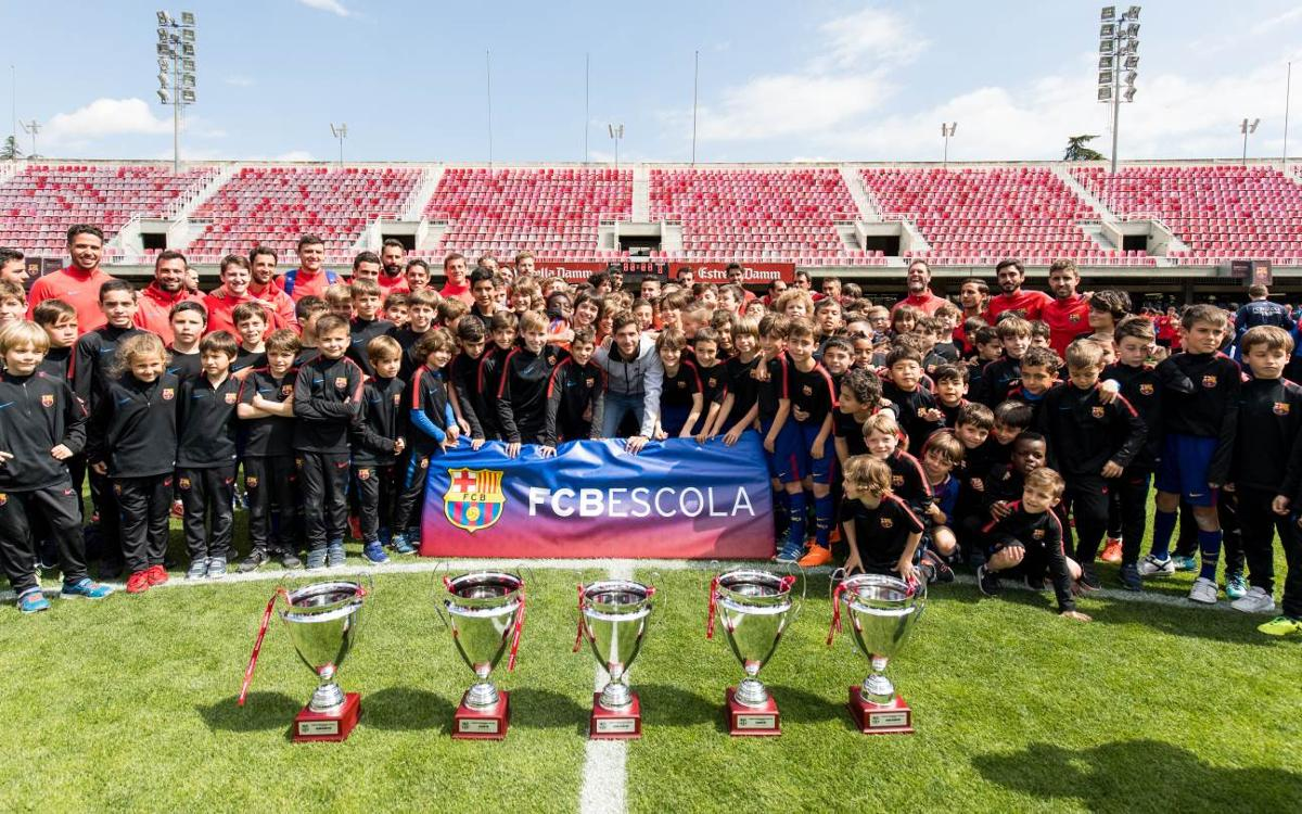 Barça Academy World Cup presented by Rakuten 2019 is bigger ever involving more than 2,100 players