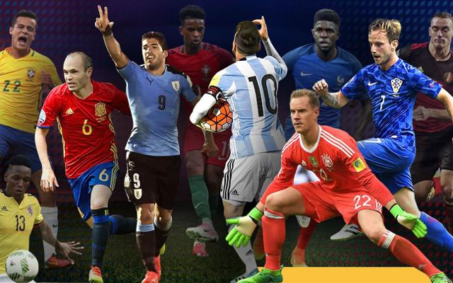 50c603067 FC Barcelona have players from nations in every group