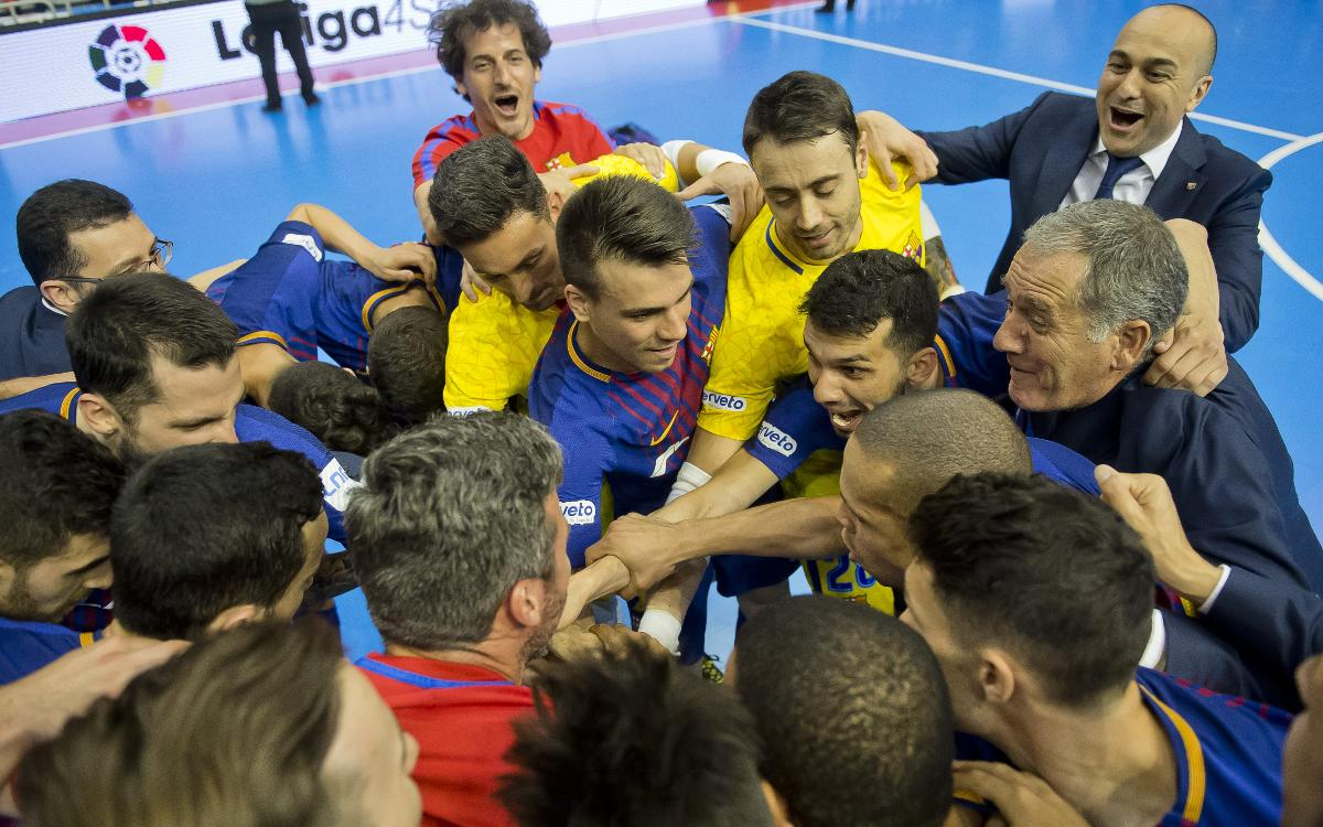 El Barça Lassa estrenarà la nova UEFA Futsal Champions League