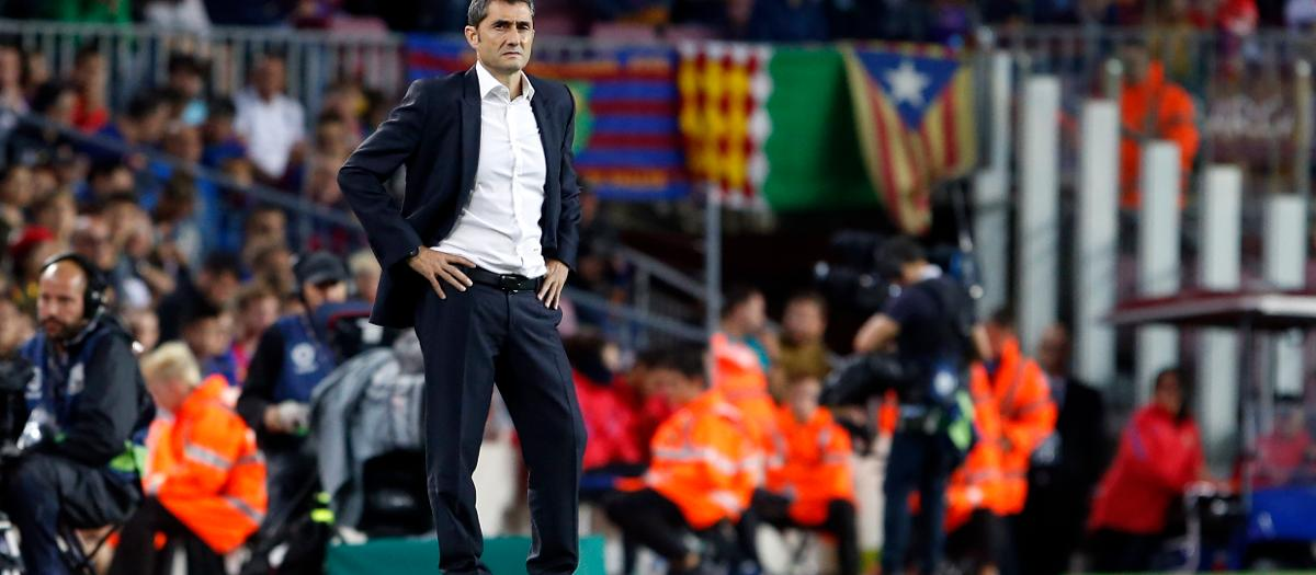Ernesto Valverde's arrival at FC Barcelona