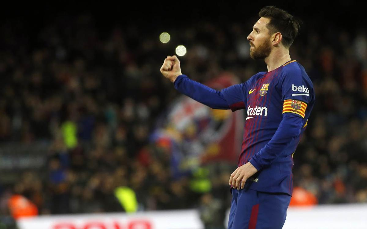 Hat-trick moves Messi joint top of Golden Shoe race