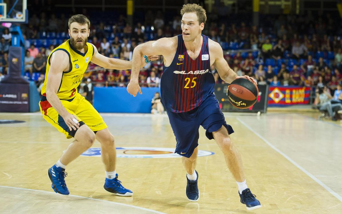 FC Barcelona Lassa – Morabanc Andorra: Must win game now in Andorra (76-94)