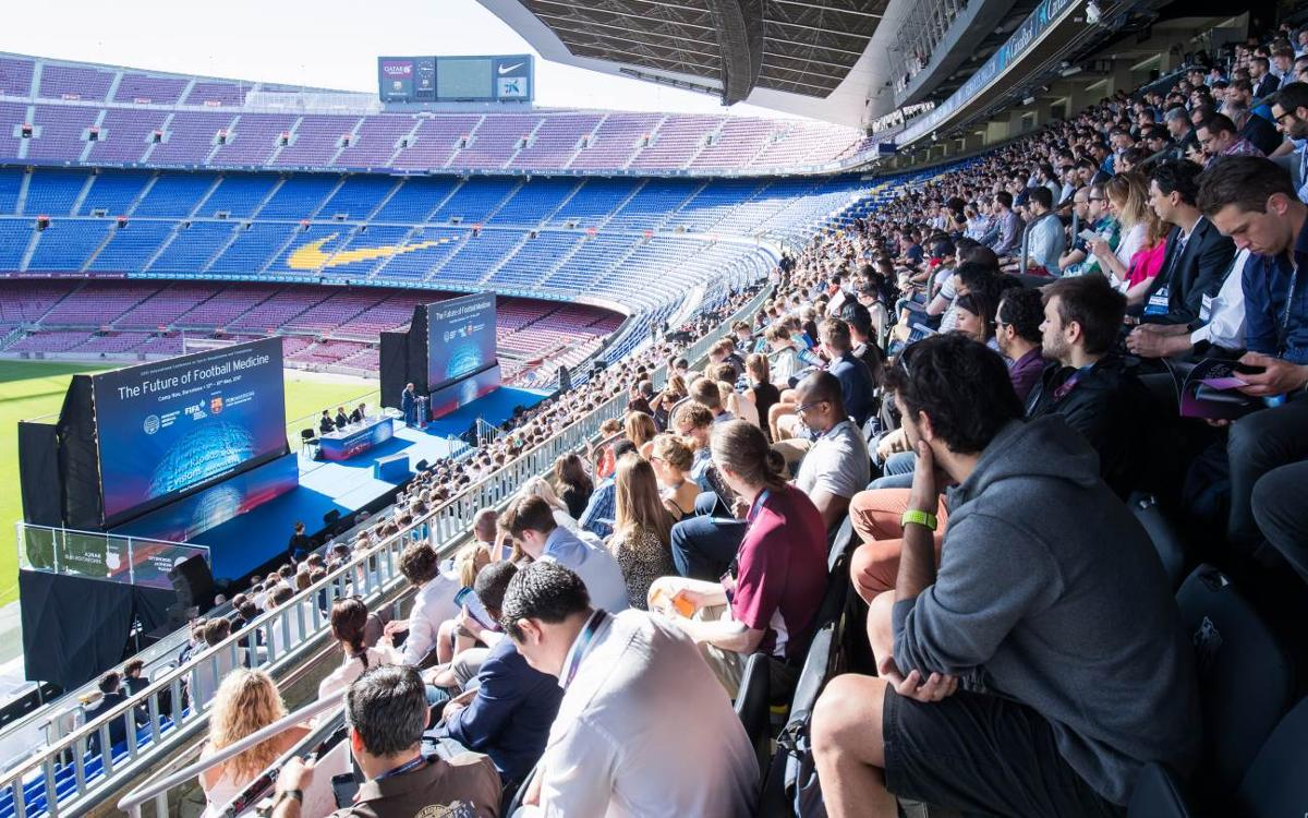 Camp Nou to host prestigious conference on sports science and medicine