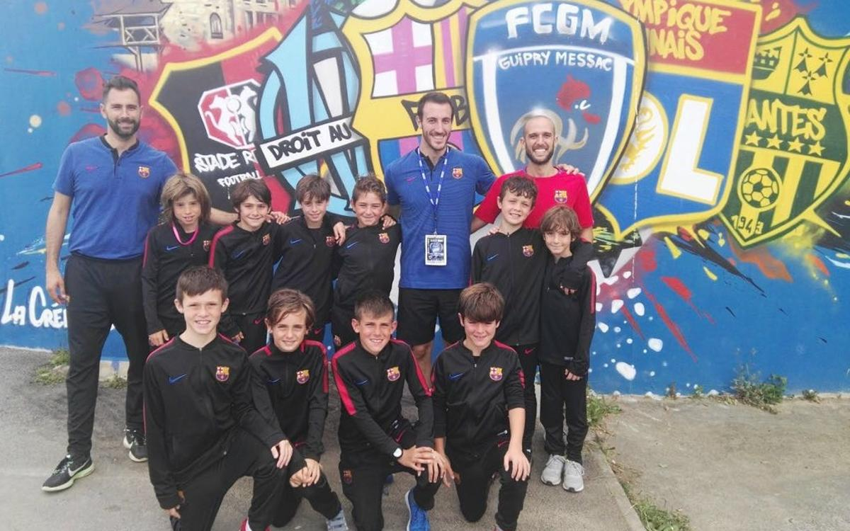 Gran cap de setmana dels equips de la Barça Escola Barcelona