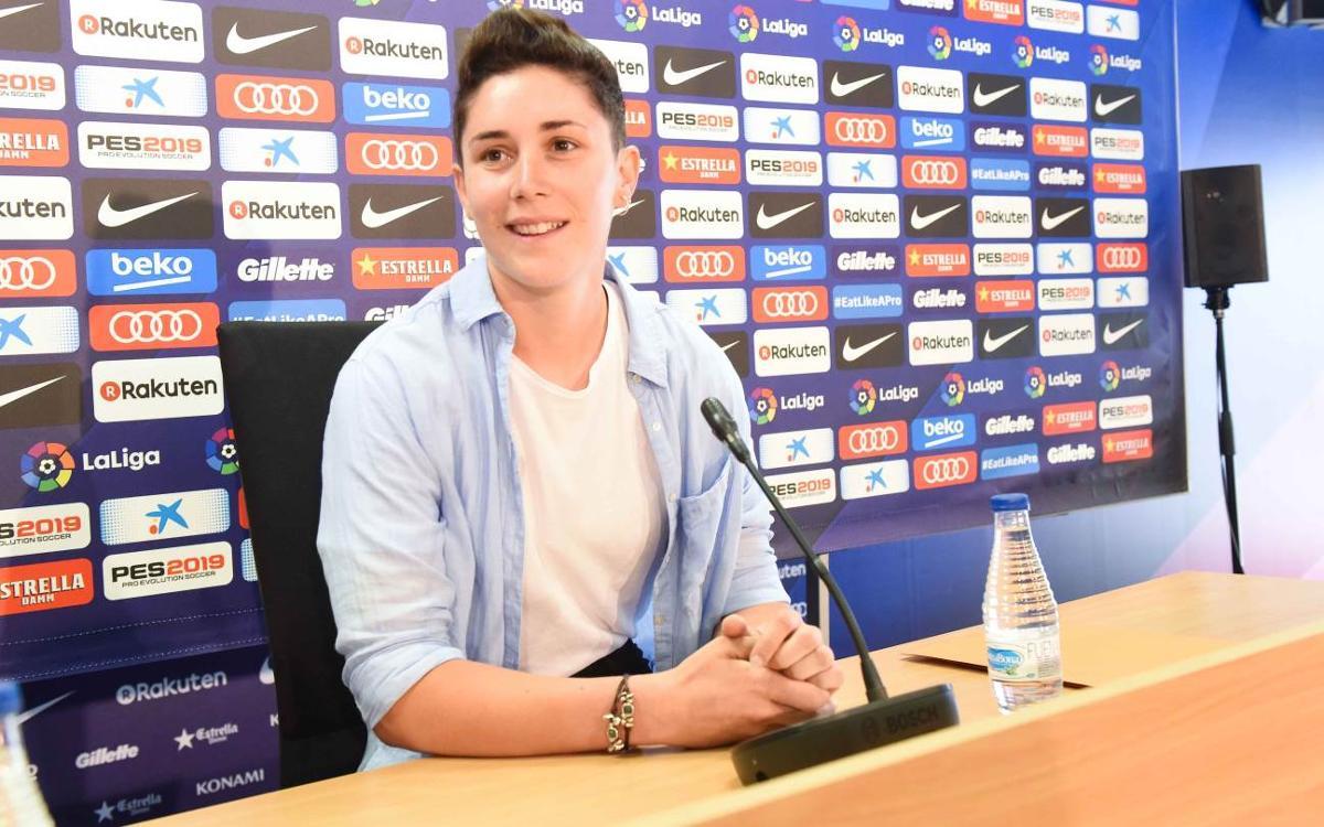 """Laura Ràfols: """"Al Barça he superat reptes i he fet història"""""""