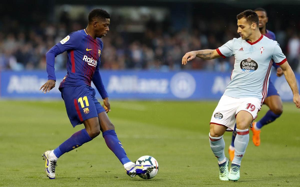 Celta Vigo – FC Barcelona: All square in Galicia (2-2)