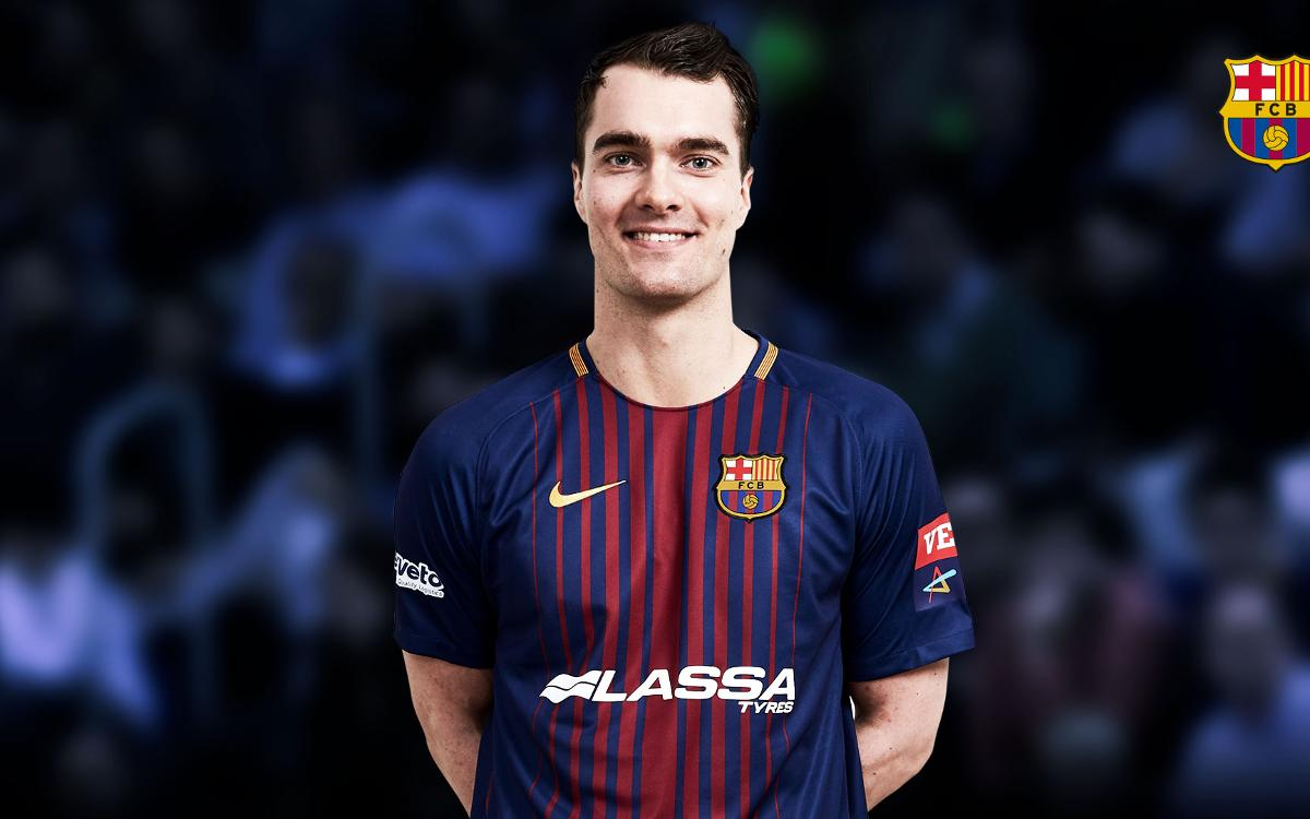 Barça Lassa sign Casper Mortensen