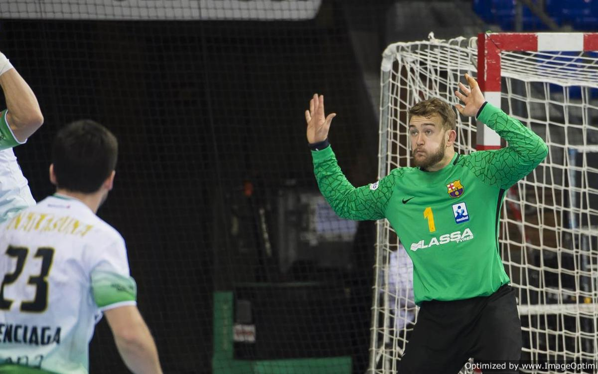 Anaitasuna - Barça Lassa: The goalkeeper was key (26-34)
