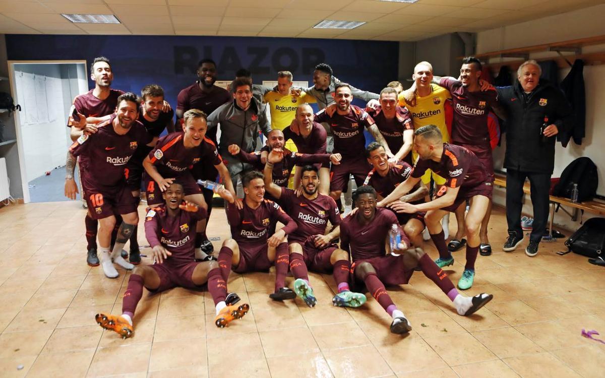 Deportivo 2-4 FC Barcelona: Liga champions!