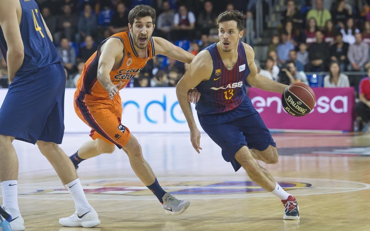 La tercera posició de la Lliga Regular passa per guanyar a València