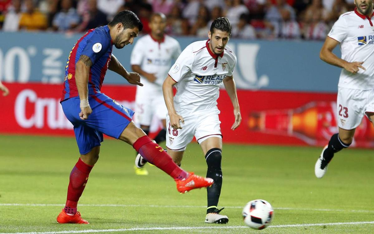 Sevilla FC to be Spanish Super Cup opponents