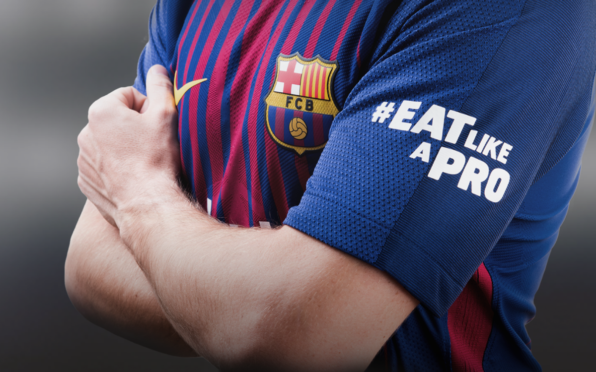 El primer equip equip lluirà el logo 'Eat Like a Pro' de Beko a la màniga aquest diumenge amb motiu del Clàssic