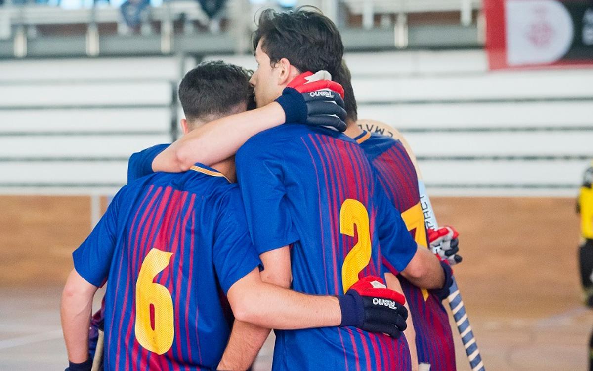 Barça Lassa B – CP Congrés (6-4): Triomf i playoff d'ascens