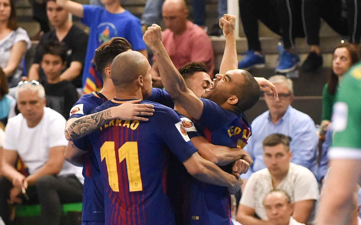 FC Barcelona Lassa 4-3 Jaén: Cup champions!