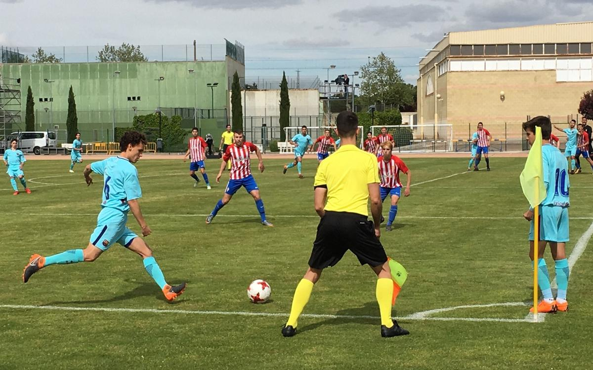 Sporting v Barça U19A: Not quite enough (2-1)